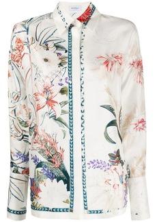 Ferragamo floral-print shirt