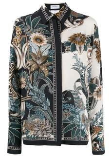 Ferragamo floral print shirt