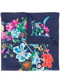 Ferragamo floral scarf