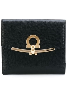 Ferragamo fold-over clasp purse