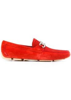 Ferragamo Gancini bit driver loafers
