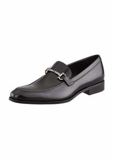 Ferragamo Gancini-Bit Loafer Black
