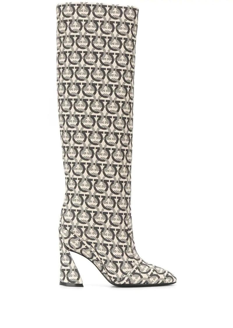 Ferragamo Gancini boots