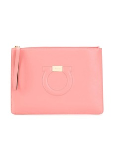Ferragamo Gancini City clutch