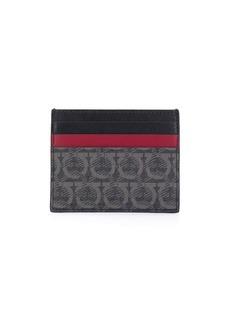 Ferragamo Gancini colour-block cardholder