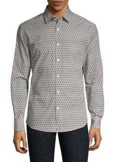 Ferragamo Gancini Cotton Button-Down Shirt