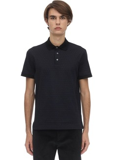 Ferragamo Gancini Cotton Polo Shirt