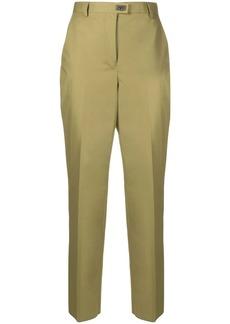 Ferragamo Gancini detail slim-fit trousers