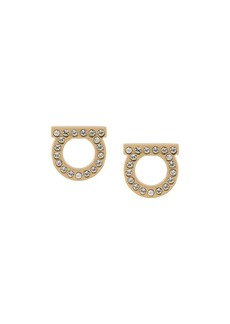 Ferragamo Gancini embellished earrings