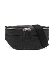 Ferragamo Gancini-embossed belt bag