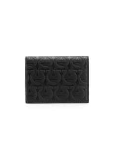 Ferragamo Gancini embossed wallet
