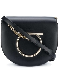 Ferragamo Gancini Flap shoulder bag