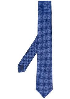 Ferragamo Gancini-jacquard silk tie