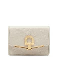 Ferragamo Gancini Leather Wallet