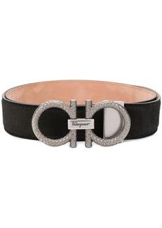 Ferragamo Gancini logo belt