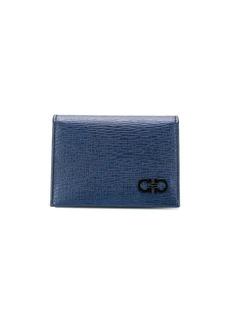 Ferragamo Gancini logo cardholder wallet