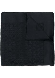 Ferragamo Gancini logo scarf