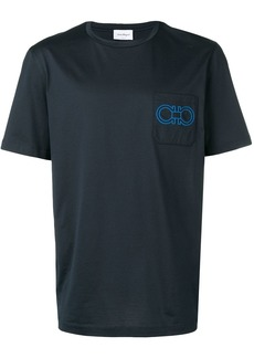 Ferragamo Gancini logo T-shirt