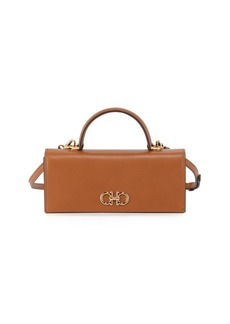 Ferragamo Gancini Mini Leather Wallet Bag