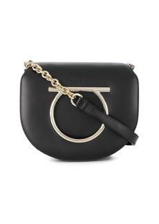 Ferragamo Gancini ornament shoulder bag