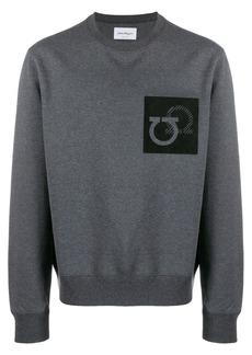 Ferragamo Gancini patch sweatshirt