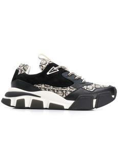 Ferragamo Gancini patterned sneakers