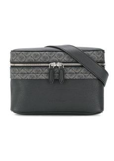 Ferragamo Gancini print belt bag