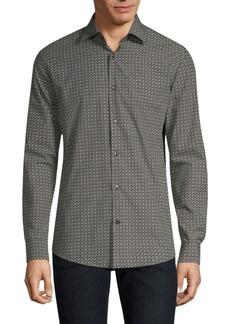 Ferragamo Gancini Print Shirt