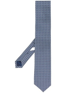 Ferragamo Gancini-print silk tie