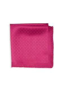 Ferragamo Gancini Silk Pocket Square