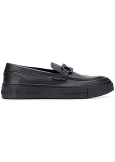Ferragamo Gancini slip-on sneakers