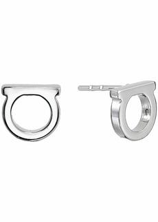 Ferragamo Gancini Solid Stud Earrings