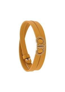 Ferragamo Gancini wrap around bracelet