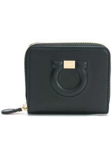 Ferragamo Gancini zip around wallet