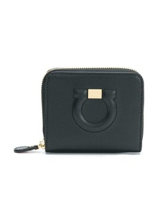Ferragamo Gancini zip around wallet