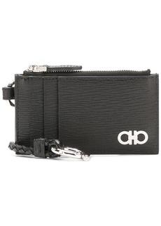 Ferragamo Gancini zipped wallet