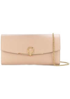 Ferragamo Gancio clutch bag