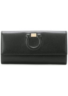 Ferragamo Gancio continental wallet