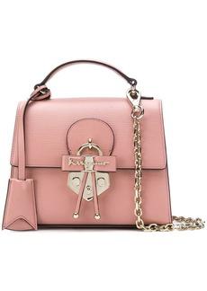 Ferragamo Gancio embellished top handle bag