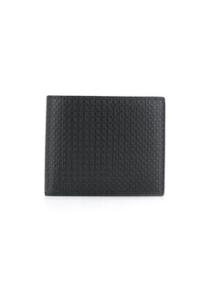 Ferragamo Gancio embossed bifold wallet