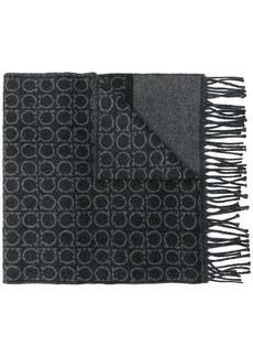 Ferragamo Gancio logo scarf