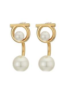 Ferragamo Gancio Pearl Earrings