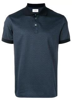 Ferragamo Gancio print polo shirt