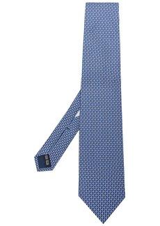 Ferragamo Gancio print tie