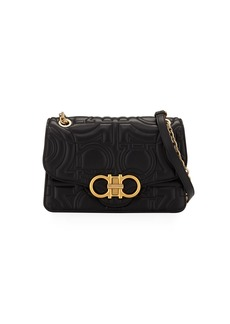 Ferragamo Gancio-Quilting Shoulder Bag