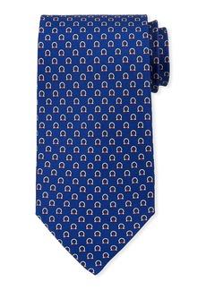 Ferragamo Gancio Silk Tie