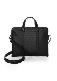 Ferragamo Gancio Soft Leather Briefcase
