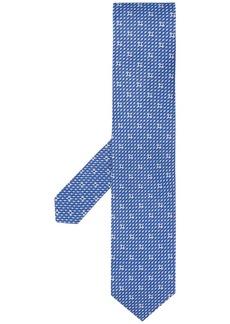 Ferragamo Gancio woven print tie