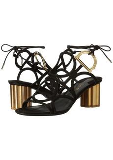 Ferragamo Geometric Lace-Up Sandal
