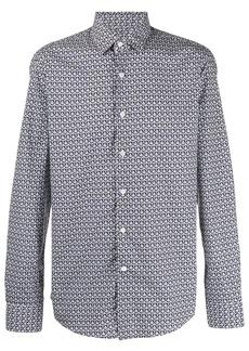 Ferragamo geometric print shirt